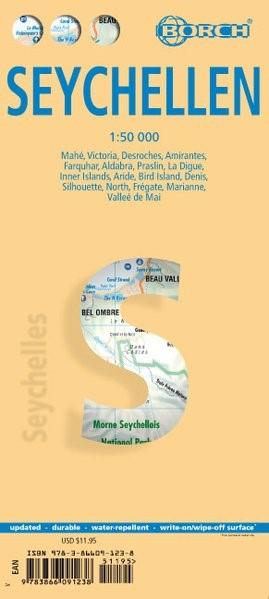 Abbildung von Seychellen 1 : 50 000   5. Auflage   2017