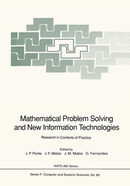 Abbildung von Ponte / Matos / Fernandes | Mathematical Problem Solving and New Information Technologies | 1992 | Research in Contexts of Practi... | 89