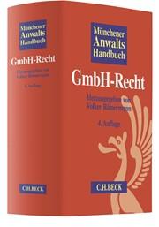 Münchener Anwaltshandbuch GmbH-Recht | 4., überarbeitete und erweiterte Auflage, 2018 | Buch (Cover)