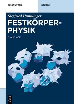 Abbildung von Hunklinger | Festkörperphysik | 5. Auflage | 2017 | beck-shop.de