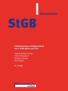 Abbildung von Donatsch / Heimgartner / Isenring | StGB Kommentar | 2018 | Schweizerisches Strafgesetzbuc...