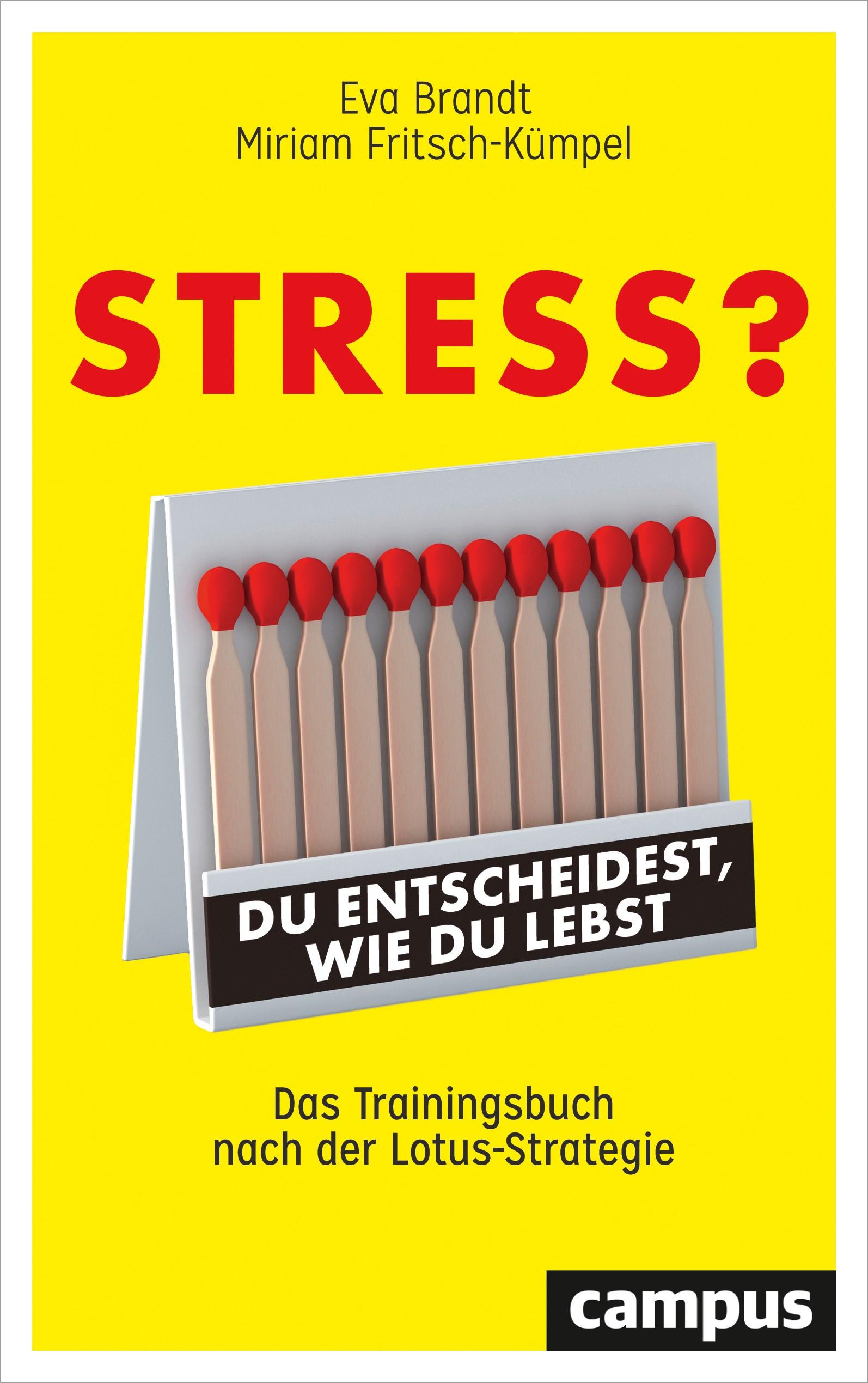 Stress? Du entscheidest, wie du lebst | Brandt / Fritsch-Kümpel, 2018 | Buch (Cover)