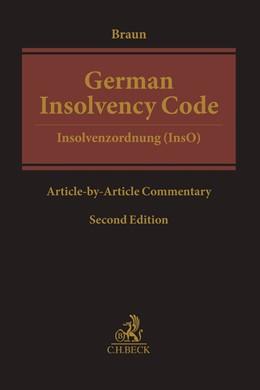 Abbildung von Braun | German Insolvency Code | 2. Auflage | 2019 | beck-shop.de