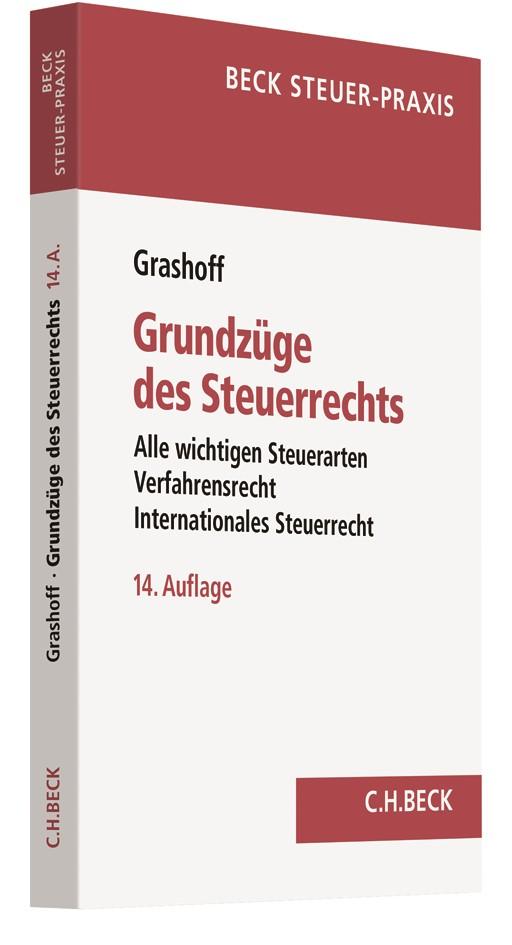 Grundzüge des Steuerrechts | Grashoff | 14. Auflage, 2018 | Buch (Cover)