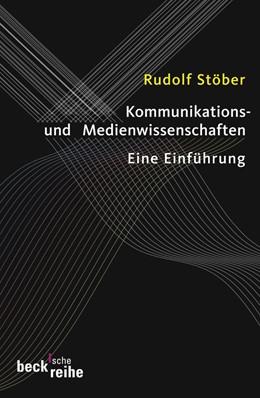 Abbildung von Stöber, Rudolf | Kommunikations- und Medienwissenschaften | 2008 | Eine Einführung | 1798