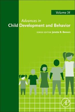 Abbildung von Advances in Child Development and Behavior | 2018 | 54
