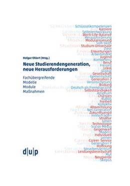Abbildung von Ehlert   Neue Studierendengeneration, neue Herausforderungen   1. Auflage   2017   beck-shop.de