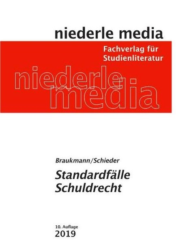 Abbildung von Braukmann / Schieder | Standardfälle Schuldrecht | 9. Auflage | 2017