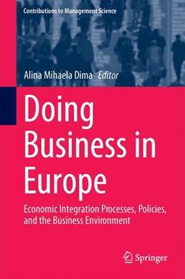 Abbildung von Dima | Doing Business in Europe | 1. Auflage | 2018 | beck-shop.de