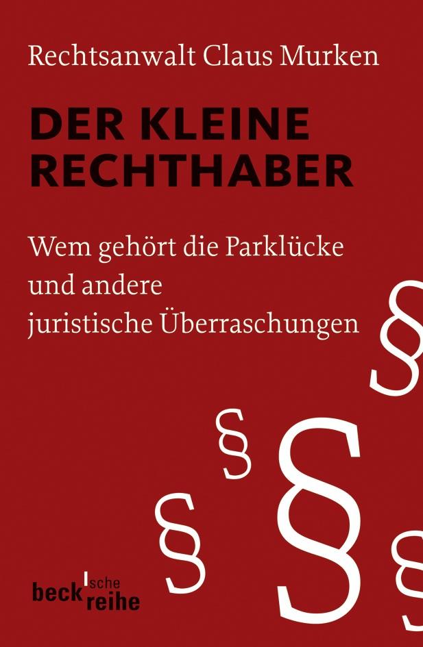 Der kleine Rechthaber | Murken, Claus, 2008 | Buch (Cover)