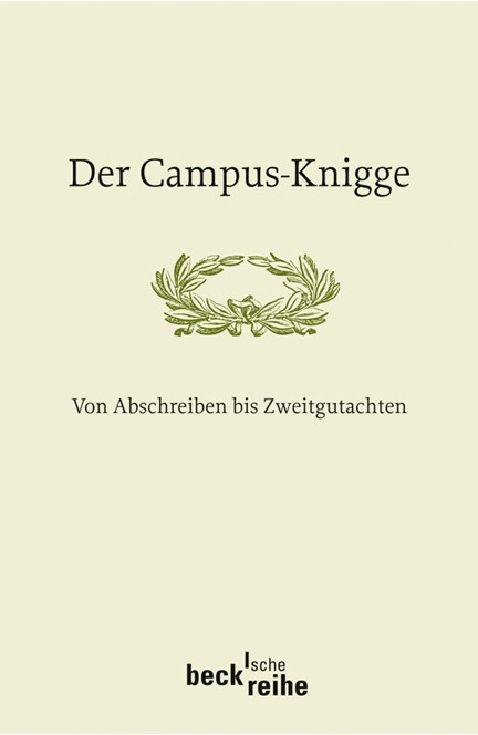 Cover: , Der Campus-Knigge
