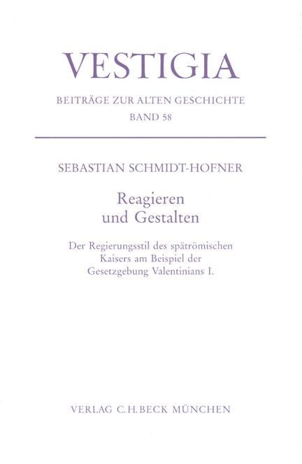 Cover: Sebastian Schmidt-Hofner, Reagieren und Gestalten
