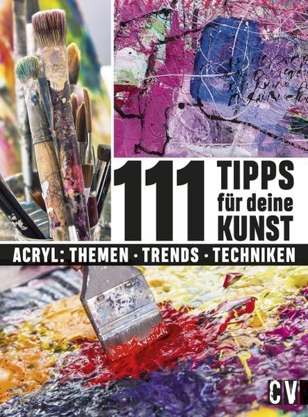 111 Tipps für deine Kunst, 2018 | Buch (Cover)