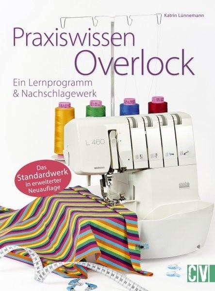 Praxiswissen Overlock   Lünnemann, 2018   Buch (Cover)