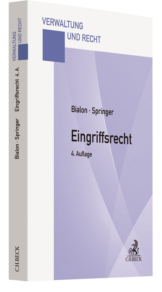 Eingriffsrecht | Bialon / Springer | 4. Auflage, 2018 | Buch (Cover)