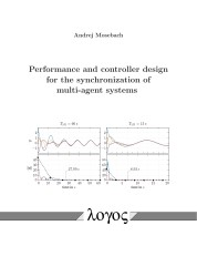 Performance and controller design for the synchronization of multi-agent systems | Mosebach, 2017 | Buch (Cover)