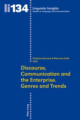 Abbildung von Garzone   Discourse, Communication and the Enterprise.- Genres and Trends   2011