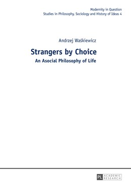 Abbildung von Waskiewicz | Strangers by Choice | 1. Auflage | 2015 | beck-shop.de