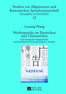 Abbildung von Wang | Werbesprache im Deutschen und Chinesischen | 1. Auflage | 2013 | beck-shop.de