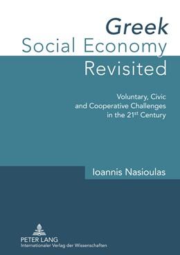 Abbildung von Nasioulas | Greek Social Economy Revisited | 2013 | Voluntary, Civic and Cooperati...