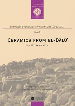 Abbildung von Worschech | Ceramics from el-Balu | 2014