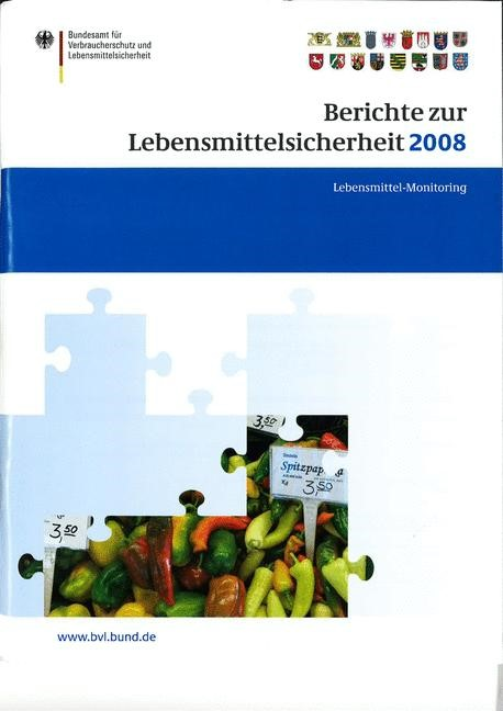 Berichte zur Lebensmittelsicherheit 2008   Brandt   2009, 2009   Buch (Cover)