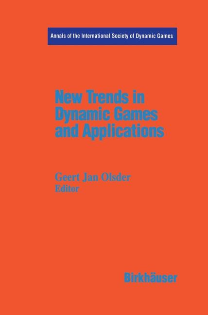 Abbildung von Olsder   New Trends in Dynamic Games and Applications   1995