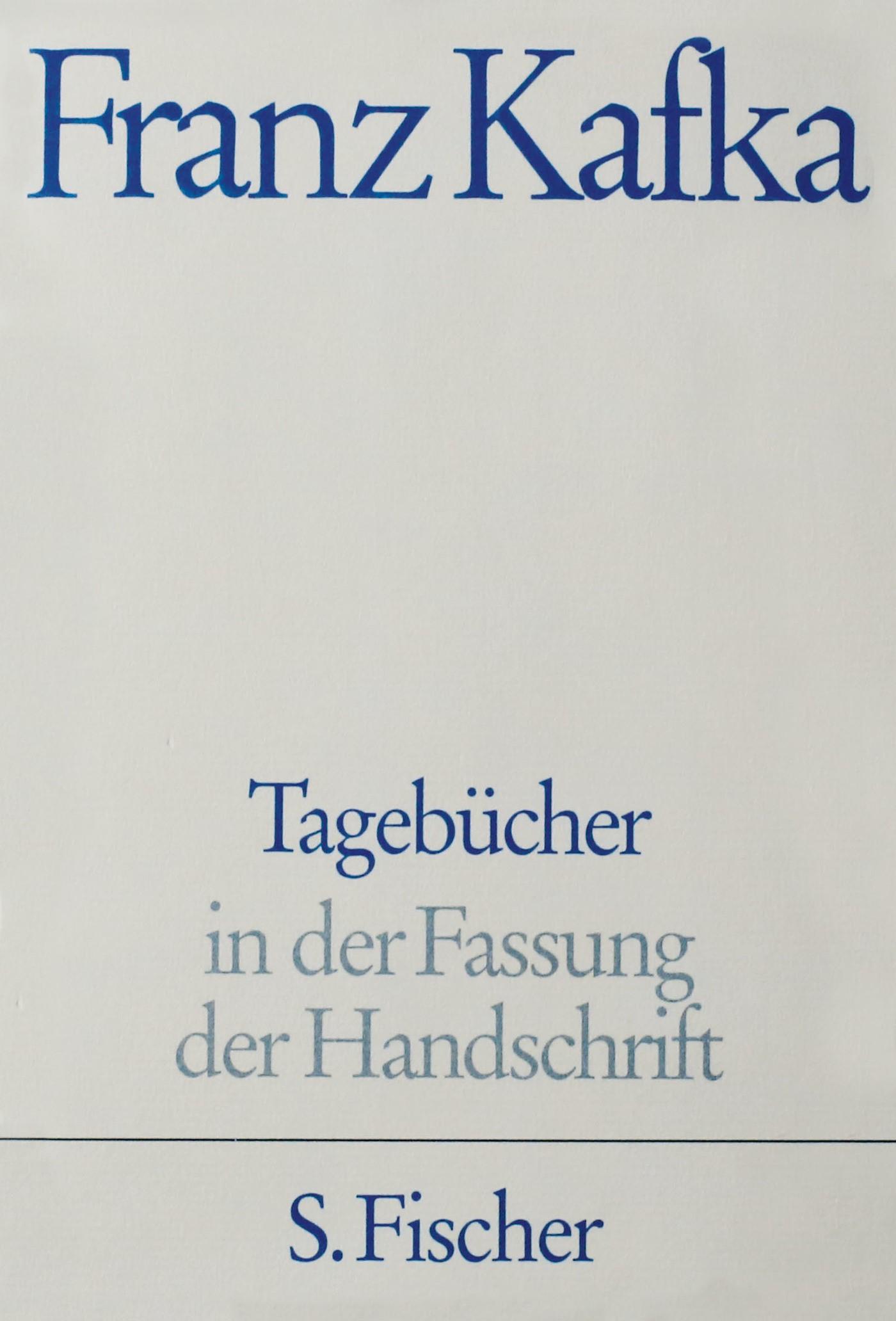 Tagebücher, Kommentar | Kafka, 2008 | Buch (Cover)
