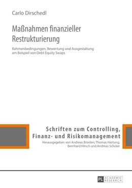Abbildung von Dirschedl | Manahmen finanzieller Restrukturierung | 2015 | Rahmenbedingungen, Bewertung u...