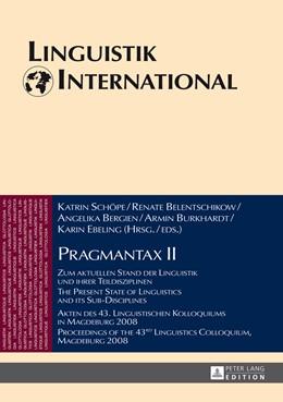 Abbildung von Schope | Pragmantax II | 1. Auflage | 2014 | beck-shop.de