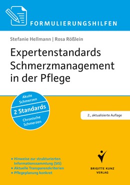 Abbildung von Hellmann / Rößlein | Expertenstandards Schmerzmanagement in der Pflege | 2. Auflage | 2017 | beck-shop.de