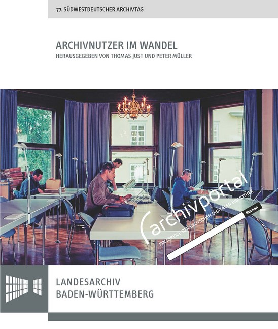 Archivnutzer im Wandel   Just / Müller, 2018   Buch (Cover)