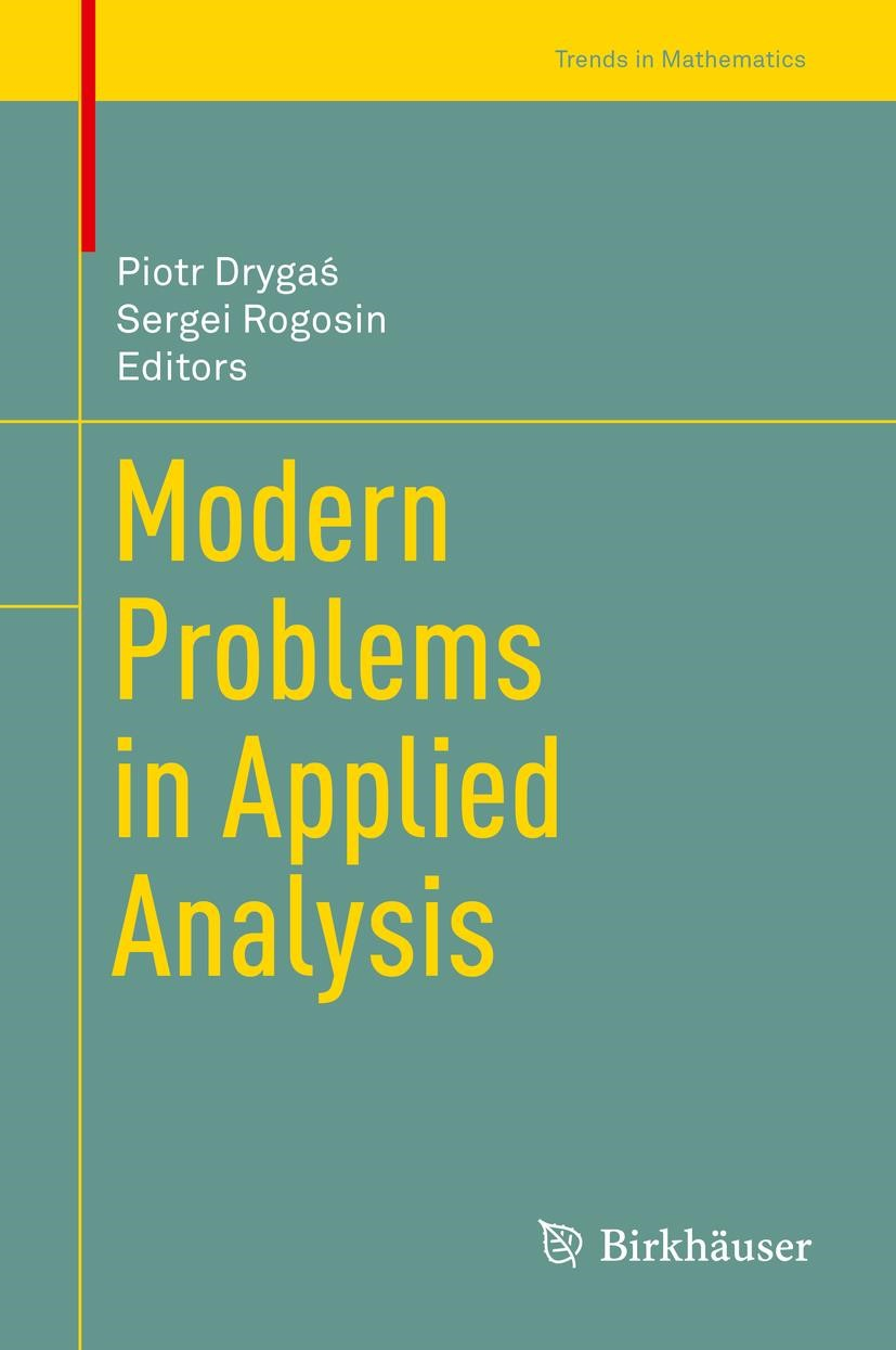 Modern Problems in Applied Analysis | Drygas / Rogosin | 1st ed. 2018, 2018 | Buch (Cover)