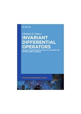 Abbildung von Dobrev | Invariant Differential Operators | 2018 | Vol. 3 Supersymmetry