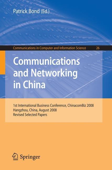 Abbildung von Bond | Communications and Networking in China | 2009