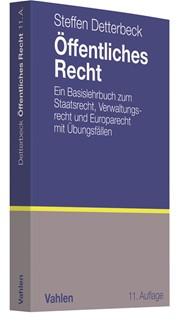 Öffentliches Recht | Detterbeck | 11., völlig neubearbeitete und erweiterte Auflage, 2018 | Buch (Cover)