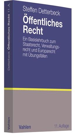 Abbildung von Detterbeck | Öffentliches Recht | 11., völlig neubearbeitete und erweiterte Auflage | 2018 | Ein Basislehrbuch zum Staatsre...