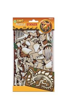 Abbildung von Puzzlesticker Dino Stegosaurus | 1. Auflage | 2018 | beck-shop.de