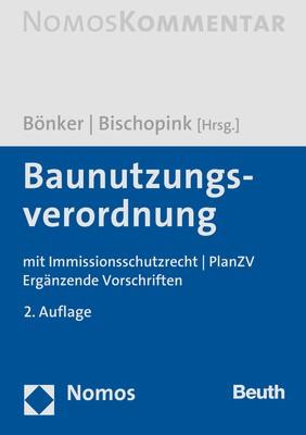 Baunutzungsverordnung: BauNVO | Bönker / Bischopink (Hrsg.) | 2. Auflage, 2018 | Buch (Cover)