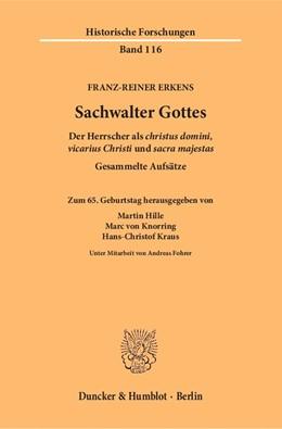Abbildung von Hille / Knorring   Sachwalter Gottes   1. Auflage   2017   beck-shop.de