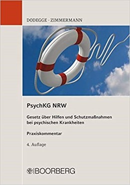 Abbildung von Dodegge / Zimmermann   PsychKG NRW   4. Auflage   2018   beck-shop.de