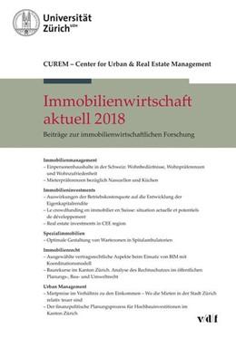 Abbildung von Immobilienwirtschaft aktuell 2018 | 1. Auflage | 2018 | beck-shop.de