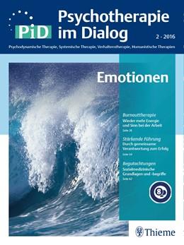 Abbildung von Psychotherapie im Dialog - Emotionen   1. Auflage   2018   beck-shop.de