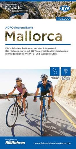 Abbildung von ADFC-Regionalkarte Mallorca, 1:75.000 | 1. Auflage | 2018 | Die schönsten Radtouren auf de...