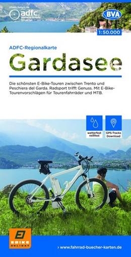 Abbildung von ADFC-Regionalkarte Gardasee, 1:50.000 | 1. Auflage | 2018 | Die schönsten E-Bike-Touren zw...