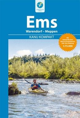 Abbildung von Hennemann   Kanu Kompakt Ems   1. Auflage   2018   Warendorf - Meppen mit topogra...