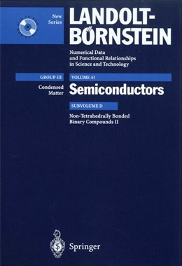 Abbildung von Kück / Madelung / Werheit   Non-Tetrahedrally Bonded Binary Compounds II   2000   Supplement to Vol. III/17g (Pr...   41D
