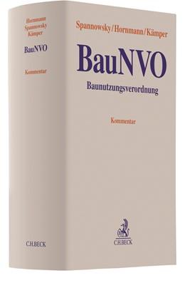 Abbildung von Spannowsky / Hornmann / Kämper   Baunutzungsverordnung: BauNVO   2018