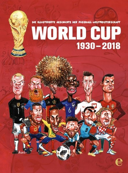 World Cup 1930-2018 | Aczel, 2018 | Buch (Cover)