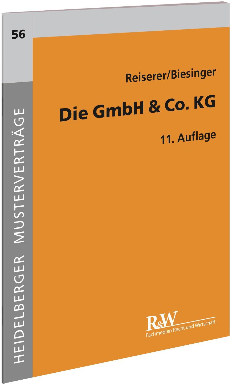 Die GmbH & Co. KG | Reiserer / Biesinger | 11., neu bearbeitete Auflage, 2018 | Buch (Cover)